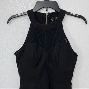 Black Windsor Mini Dress
